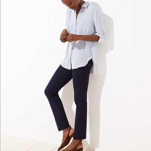 Loft tall slim crop pull on pants/regular and plus